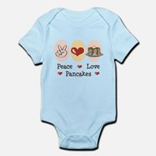 Peace Love Pancakes Infant Bodysuit