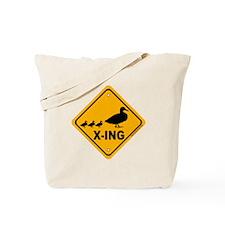 Duck X-ing Tote Bag