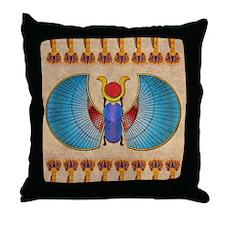 Scarab Throw Pillow