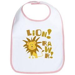 Lion Rawr Bib