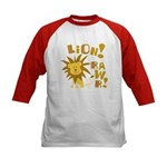 Lion Rawr Kids Baseball Jersey