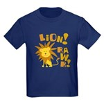 Lion Rawr Kids Dark T-Shirt