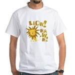 Lion Rawr White T-Shirt