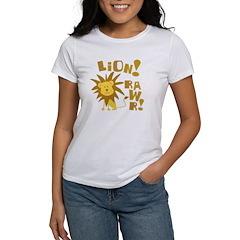 Lion Rawr Women's T-Shirt