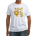 Lion Rawr Fitted T-Shirt