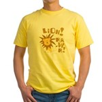 Lion Rawr Yellow T-Shirt
