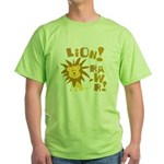 Lion Rawr Green T-Shirt