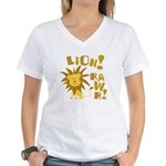 Lion Rawr Women's V-Neck T-Shirt