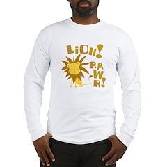 Lion Rawr Long Sleeve T-Shirt