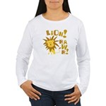 Lion Rawr Women's Long Sleeve T-Shirt