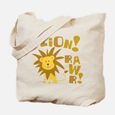 Lion Rawr Tote Bag