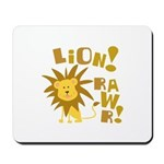 Lion Rawr Mousepad