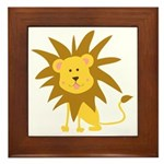 Lion Rawr Framed Tile