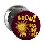 "Lion Rawr 2.25"" Button (100 pack)"