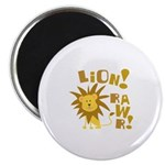 "Lion Rawr 2.25"" Magnet (100 pack)"