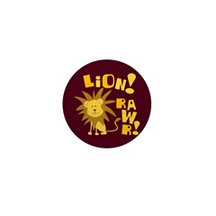 Lion Rawr Mini Button (10 pack)