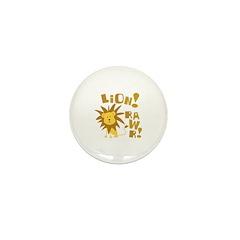 Lion Rawr Mini Button (100 pack)