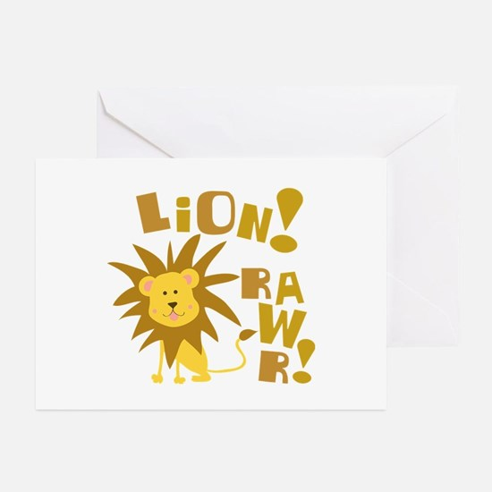 Lion Rawr Greeting Cards (Pk of 20)