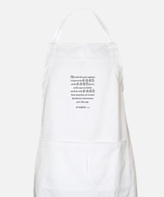 NUMBERS  11:1 BBQ Apron