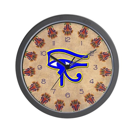 Eye of Horus Wall Clock