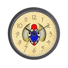 Scarab Wall Clock