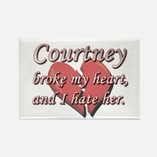 Courtney broke my heart and I hate her Rectangle M