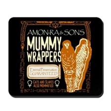 Mummy Wrappers Mousepad