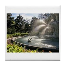 Savannah Forsyth Fountain Tile Coaster