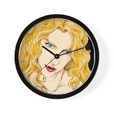 Vampire Vixen Wall Clock