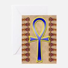 Ankh Greeting Card