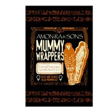 Mummy Wrappers Postcards (Package of 8)