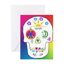 Greeting Card sugar skull no inside
