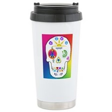 Cute Day of dead Travel Mug