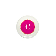 c•pink Mini Button (100 pack)