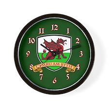 Dragon Shield Wall Clock
