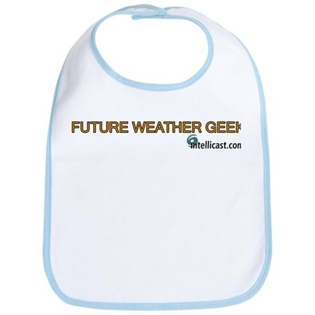 """Future Weather Geek"" Bib"