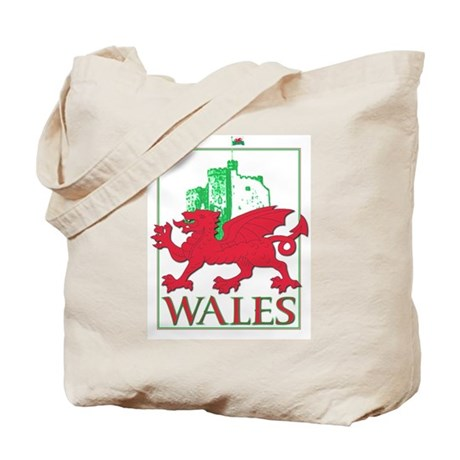 Dragon and Castle Tote Bag