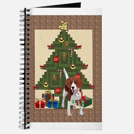 Tree trimming dog Journal