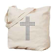 Jeweled Cross Tote Bag