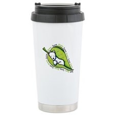 Love GREEN Westie Travel Mug
