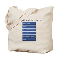 Friend Me? - Tote Bag