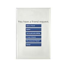 Friend Me? - Rectangle Magnet