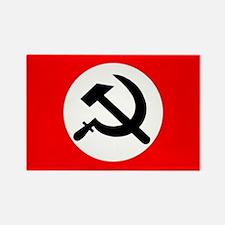 National Bolshevik Party Rectangle Magnet