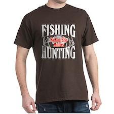 Fishing Hunting Nothing Else Matters T-Shirt