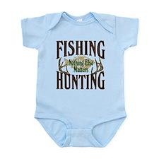 Fishing Hunting Nothing Else Matters Onesie