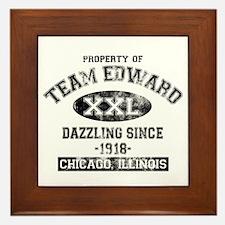 Property of Team Edward Framed Tile