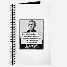 Obama - Jefferson's Theme Journal