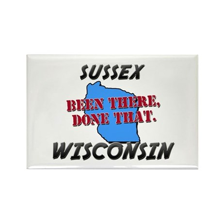sussex wisconsin - been there, done that Rectangle