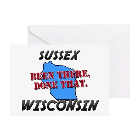 sussex wisconsin - been there, done that Greeting