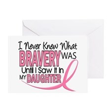 Bravery (Daughter) Breast Cancer Greeting Card